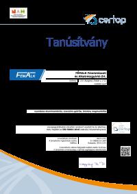 FémAlk Zrt ISO 50001-2018